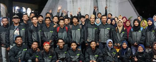Kontingen IPPBMM UIN Malang