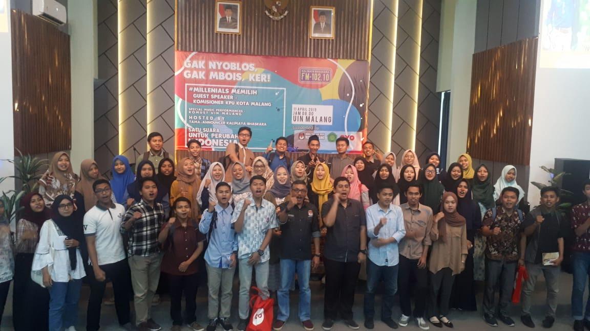 Gandeng KPU Kota Malang, UIN Malang Sosialisasikan Pemilu 2019